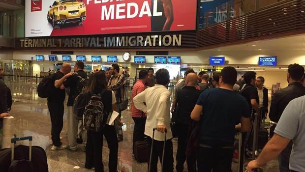 Singapur'da Türk işadamlarına Şok!
